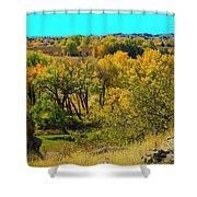 Thompson Valley Overlook Shower Curtain