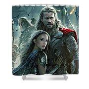 Thor 2 The Dark World 2013 Shower Curtain