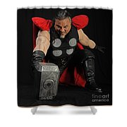 Thor Shower Curtain