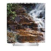 Thoreau Falls - White Mountains New Hampshire  Shower Curtain by Erin Paul Donovan