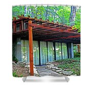 Thorncrown Chapel 2 Shower Curtain