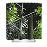 Thorncrown Chapel Eureka Springs Ar Entry Shower Curtain