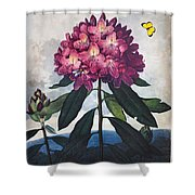 Thornton: Rhododendron Shower Curtain