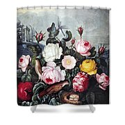 Thornton: Roses Shower Curtain