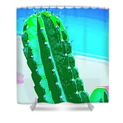 Thorny Issue Shower Curtain