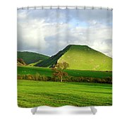 Thorpe Cloud From Bunster Hill Shower Curtain