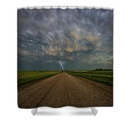 Thor's Chariot  Shower Curtain