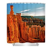 Thor's Hammer Bryce Canyon National Park Shower Curtain
