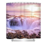 Thor's Well Shower Curtain