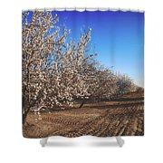 Those Country Roads Shower Curtain