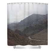 Those Mountains Shower Curtain