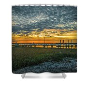 Those Southern Sunsets Shower Curtain