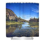 Those Summer Days Shower Curtain