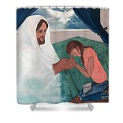 Those Who Hope In The Lord Will Renew Their Strength Shower Curtain