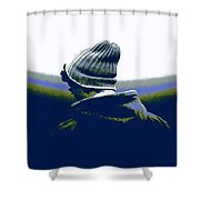 Thoughful Youth 2 Shower Curtain