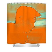 Thoughful Youth 4 Shower Curtain