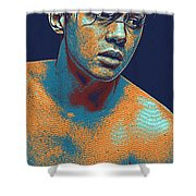 Thoughtful Youth Series 13 Shower Curtain