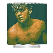 Thoughtful Youth Series 14 Shower Curtain