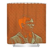 Thoughtful Youth Series 19 Shower Curtain