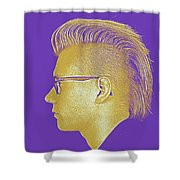 Thoughtful Youth Series 22 Shower Curtain