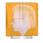 Thoughtful Youth Series 26 Shower Curtain