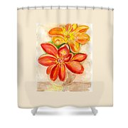 Thoughtfulness Shower Curtain