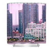 Thousands Of Windows On The Harbor Shower Curtain
