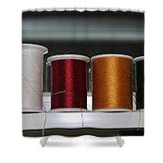 Thread On A Sill Shower Curtain