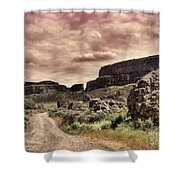Threatening Skies Shower Curtain