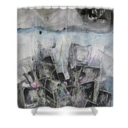 Three Arms Shower Curtain