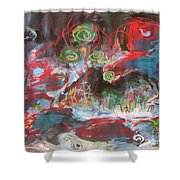 Three Arms12 Shower Curtain