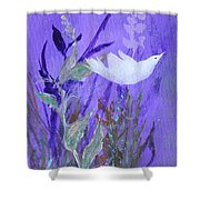 Three Doves  Shower Curtain