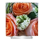 Three From The Heart Shower Curtain