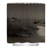 Three Granites Shower Curtain