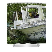 Three Hour Tour - In Color Shower Curtain
