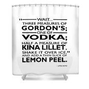 Three Measures Of Gordans Shower Curtain