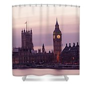 Three Minutes After Sunset Shower Curtain
