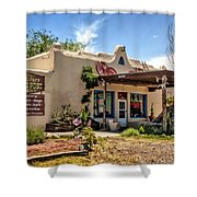 Three Rivers Trading Post Shower Curtain