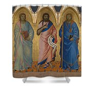 Three Saints Shower Curtain