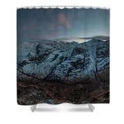 Three Sisters After Dark  Shower Curtain