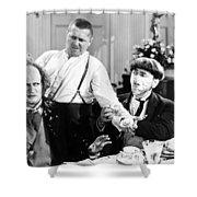 Three Stooges: Film Still Shower Curtain by Granger