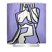 Three Shower Curtain