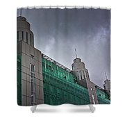 Three Towers In Tallinn Shower Curtain