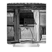 Three Windows Shower Curtain
