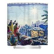 Three Wise Men Shower Curtain by Unknown