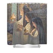 Three Wise Virgins Shower Curtain