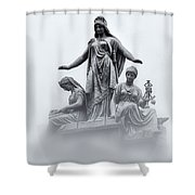 Three Woman Shower Curtain