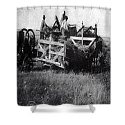Threshing Day Shower Curtain
