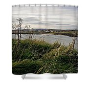 Thriving Under The Wind. Shower Curtain
