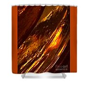 Through A Glass Darkly 3 Abstract Shower Curtain